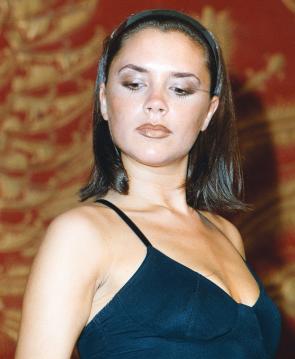 Lip Liner on Victoria Beckham