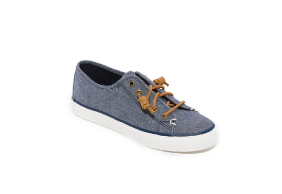 sperry canvas sneaker