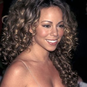 Glossy Lips on Mariah Carey