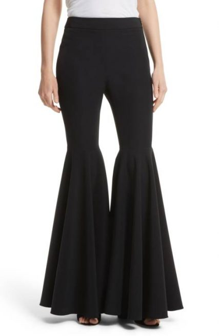 Nordstrom Milly Flare Leg Cady Pants
