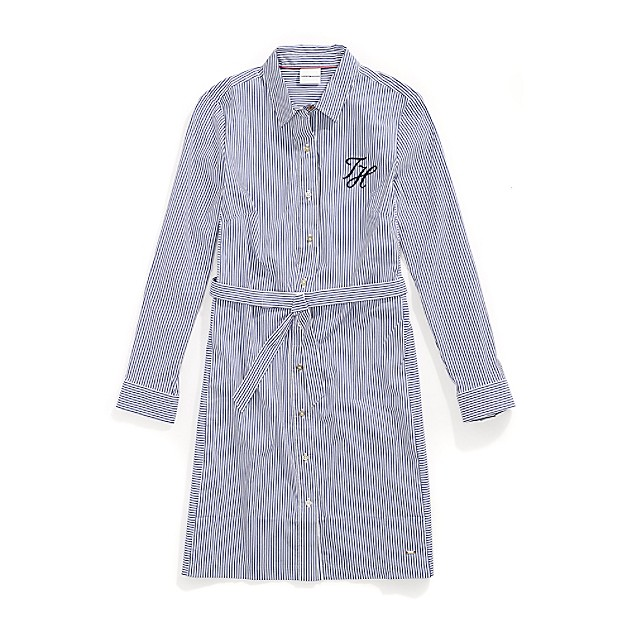 Tommy Adaptive Shriped Shirtdress
