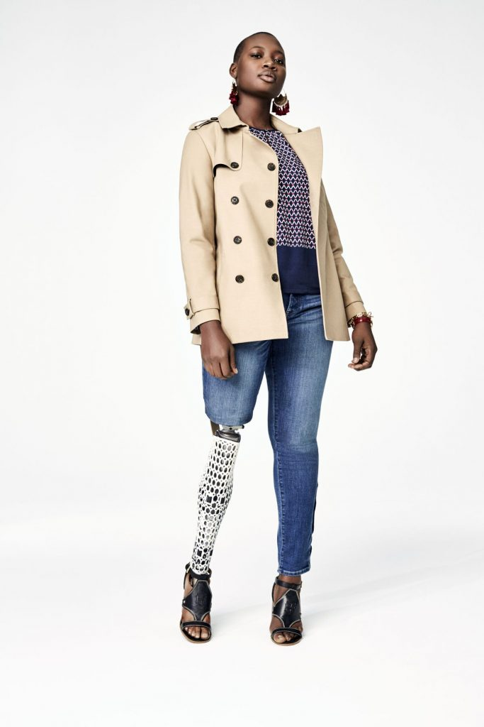 Tommy Adaptive Trench Coat Womens