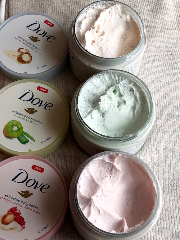 New From Dove Exfoliating Body Polish