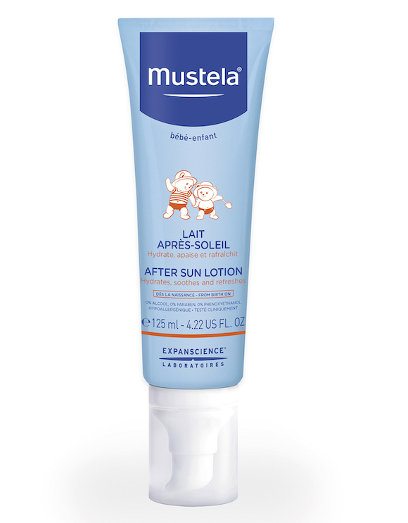 mustela after sun lotion